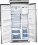 Steel Genesi GFR9 Fridge refrigerator with freezer