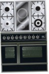 ILVE QDC-90VW-MP Matt Kitchen Stove, type of oven: electric, type of hob: combined