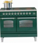 ILVE PDNE-100-MW Green Kitchen Stove, type of oven: electric, type of hob: electric