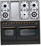 ILVE PSN-120F-MP Matt Kitchen Stove, type of oven: electric, type of hob: gas
