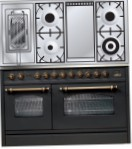ILVE PSN-120FR-MP Matt Kitchen Stove, type of oven: electric, type of hob: gas