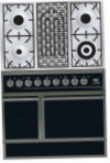 ILVE QDC-90B-MP Matt Kitchen Stove, type of oven: electric, type of hob: combined