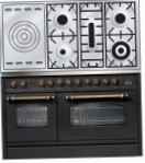ILVE PSN-120S-VG Matt Kitchen Stove, type of oven: gas, type of hob: gas