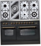 ILVE PSN-120V-VG Matt Kitchen Stove, type of oven: gas, type of hob: combined