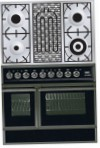 ILVE QDC-90BW-MP Matt Kitchen Stove, type of oven: electric, type of hob: combined
