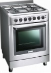 Electrolux EKK 601302 X Kitchen Stove, type of oven: electric, type of hob: gas
