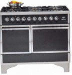 ILVE QDC-1006-MW Matt Kitchen Stove, type of oven: electric, type of hob: gas