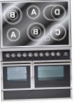 ILVE QDCE-100W-MW Matt Kitchen Stove, type of oven: electric, type of hob: electric