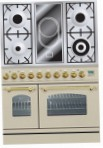 ILVE PDN-90V-MP Antique white Kitchen Stove, type of oven: electric, type of hob: combined