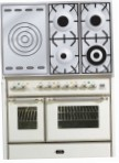 ILVE MD-100SD-MP Antique white Kitchen Stove, type of oven: electric, type of hob: gas