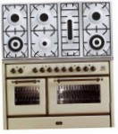 ILVE MS-1207D-MP Antique white Kitchen Stove, type of oven: electric, type of hob: gas