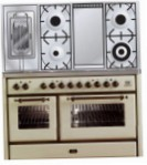 ILVE MS-120FRD-MP Antique white Kitchen Stove, type of oven: electric, type of hob: gas