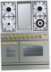 ILVE PDN-90F-MP Stainless-Steel Kitchen Stove, type of oven: electric, type of hob: gas