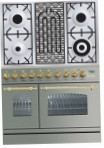 ILVE PDN-90B-MP Stainless-Steel Kitchen Stove, type of oven: electric, type of hob: combined