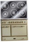 ILVE MCDE-100-MP Antique white Kitchen Stove, type of oven: electric, type of hob: electric