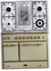 ILVE MCD-100RD-MP Antique white Kitchen Stove, type of oven: electric, type of hob: gas