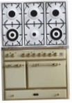 ILVE MCD-1006D-MP Antique white Kitchen Stove, type of oven: electric, type of hob: gas