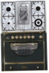 ILVE MCA-90RD-MP Matt Kitchen Stove, type of oven: electric, type of hob: gas