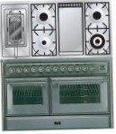 ILVE MTS-120FRD-MP Stainless-Steel Kitchen Stove, type of oven: electric, type of hob: gas