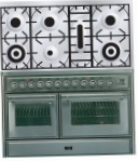 ILVE MTS-1207D-MP Stainless-Steel Kitchen Stove, type of oven: electric, type of hob: gas