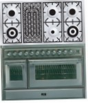 ILVE MT-120BD-MP Stainless-Steel Kitchen Stove, type of oven: electric, type of hob: gas