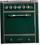 ILVE MC-70-MP Green Kitchen Stove, type of oven: electric, type of hob: gas