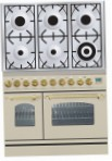 ILVE PDN-906-MP Antique white Kitchen Stove, type of oven: electric, type of hob: gas