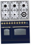 ILVE PDN-906-MP Blue Kitchen Stove, type of oven: electric, type of hob: gas