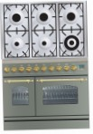 ILVE PDN-906-MP Stainless-Steel Kitchen Stove, type of oven: electric, type of hob: gas