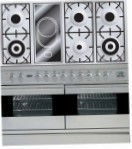ILVE PDF-120V-VG Stainless-Steel Kitchen Stove, type of oven: gas, type of hob: combined
