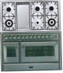 ILVE MT-120FD-MP Stainless-Steel Kitchen Stove, type of oven: electric, type of hob: gas