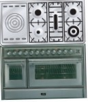 ILVE MT-120SD-MP Stainless-Steel Kitchen Stove, type of oven: electric, type of hob: gas