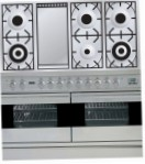 ILVE PDF-120F-VG Stainless-Steel Kitchen Stove, type of oven: gas, type of hob: gas