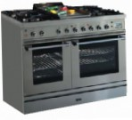 ILVE PD-100S-MP Stainless-Steel Kitchen Stove, type of oven: electric, type of hob: gas