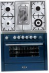 ILVE MT-90RD-E3 Blue Kitchen Stove, type of oven: electric, type of hob: gas