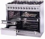 ILVE PTQ-1006-MP Stainless-Steel Kitchen Stove, type of oven: electric, type of hob: gas