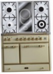 ILVE MCD-100VD-E3 Antique white Kitchen Stove, type of oven: electric, type of hob: combined
