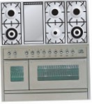ILVE PW-120F-VG Stainless-Steel Kitchen Stove, type of oven: gas, type of hob: gas