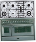 ILVE MT-1207D-E3 Stainless-Steel Kitchen Stove, type of oven: electric, type of hob: gas