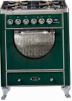 ILVE MCA-70D-E3 Green Kitchen Stove, type of oven: electric, type of hob: gas