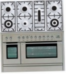 ILVE PL-1207-VG Stainless-Steel Kitchen Stove, type of oven: gas, type of hob: gas