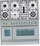 ILVE PW-1207-VG Stainless-Steel Kitchen Stove, type of oven: gas, type of hob: gas