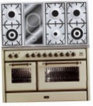 ILVE MS-120VD-E3 Antique white Kitchen Stove, type of oven: electric, type of hob: combined
