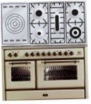 ILVE MS-120SD-E3 Antique white Kitchen Stove, type of oven: electric, type of hob: gas