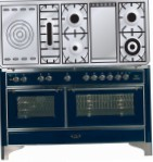 ILVE MC-150FSD-E3 Blue Kitchen Stove, type of oven: electric, type of hob: gas
