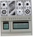 ILVE PL-120V-VG Stainless-Steel Kitchen Stove, type of oven: gas, type of hob: combined