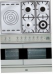 ILVE PDF-100S-VG Stainless-Steel Kitchen Stove, type of oven: gas, type of hob: gas