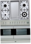 ILVE PDF-100F-VG Stainless-Steel Kitchen Stove, type of oven: gas, type of hob: gas