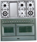 ILVE MTS-120FD-VG Stainless-Steel Kitchen Stove, type of oven: gas, type of hob: gas