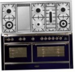 ILVE M-150FD-VG Blue Kitchen Stove, type of oven: gas, type of hob: gas